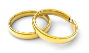 Eheringe, Konzept Hochzeit