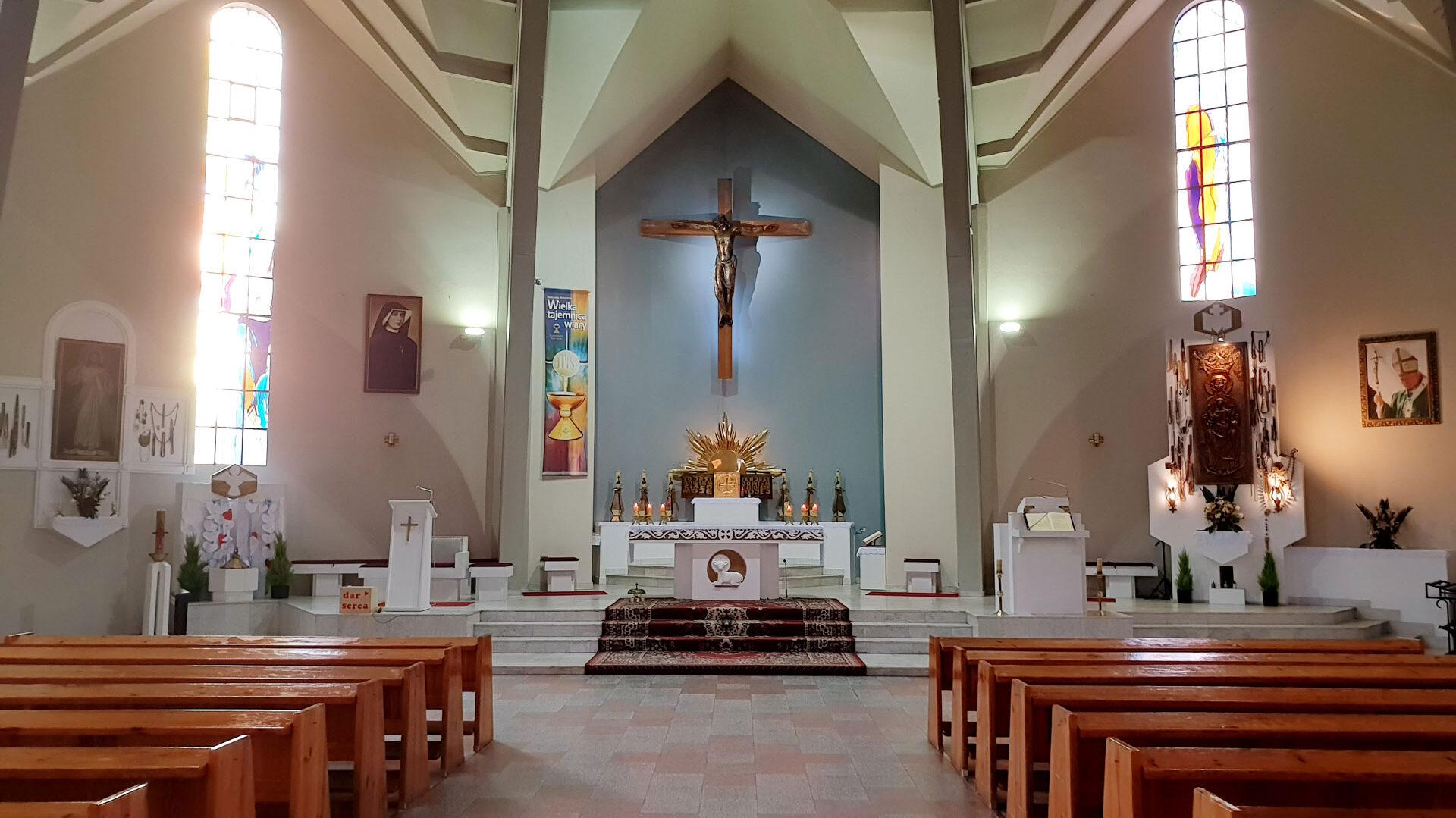 Parafia pw. Najświętszej Bogarodzicy Maryi